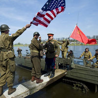 GERMANY-US-SOVIET-WWII-COMMEMORATION